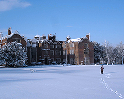 Danny House Winter.